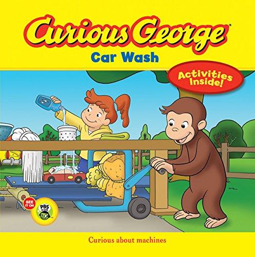 Curious George Car Wash (CGTV 8x8) [Rey, H. A.] (Tapa Blanda)