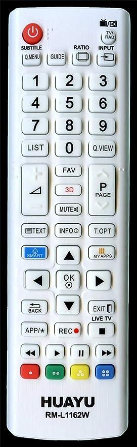 Mando a Distancia para LG AKB73655833 (42LM649S 47LM649S 42LM669S 47LM669S .): Amazon.es: Electrónica