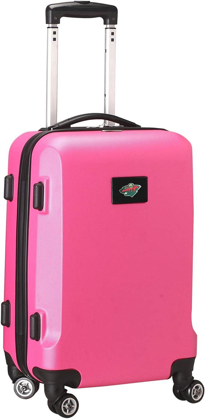 NHL Anaheim Ducks Carry-On Hardcase Spinner Pink