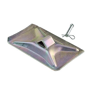 Lippert Components 119225 700052 Standard Footpad Kit Landing Gear,1 Pack: Automotive