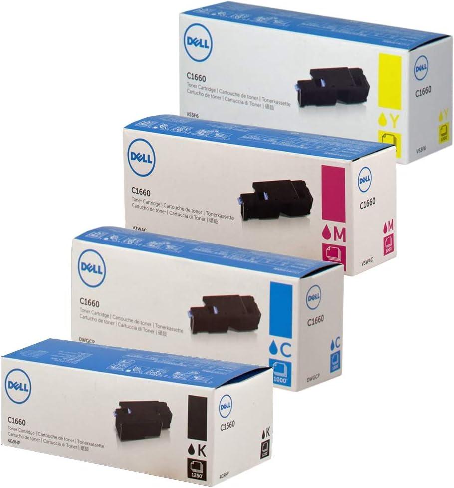 Toner Magenta kompatibel für Dell C1660 C1660W C 1660W 1660 W C 593-11128 4J0X7