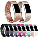 Vancle For Fitbit Charge 2 Strap, [4 Pack] [3 Pack] Replacement Straps