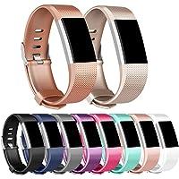 Vancle Fitbit Charge 2 Bracelet, Bracelet de Remplacement Édition Classique pour Fitbit Charge 2 (sans Traqueur)