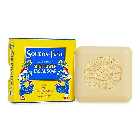 Swedish Sunflower Soap Anti-Aging Moisturizing Facial Soap