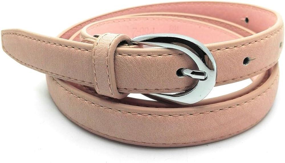 diversi colori e dimensioni MYB Cintura per donna in similpelle