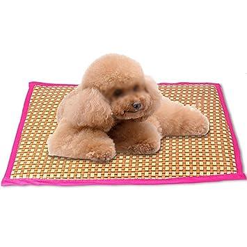 HNBGY Agraciado Cojín para Perro Summer Slee Sleeping Pad Kennel Mat Resistencia a mordida Cooling Pad Cat Mat (Color: Rosa, Talla: XL): Amazon.es: ...