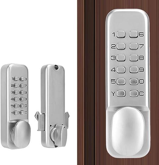 etc Sliding Door Password Lock Balcony 1-11 Digirt Combination Door Latch for Kitchen Balcony with Reset Function for Sliding Door in Kitchen