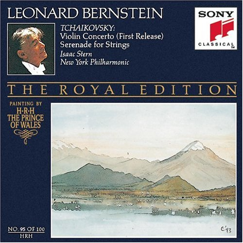 Tchaikovsky: Violin Concerto (First Release) / Serenade for Strings (Bernstein Royal Edition No. 95) by Sony Mod - Afw Line