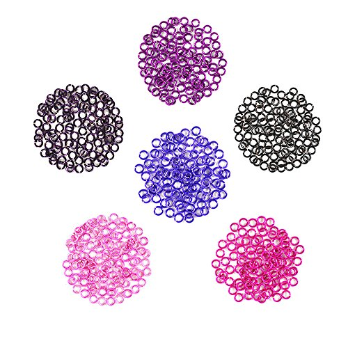 Berry Patch - Enameled Copper Jump Rings – 18 Gauge – 5.0mm ID - 600 Rings -