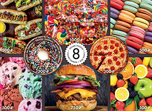 1 Piece Sweet - Ceaco Multipack Jigsaw Puzzle