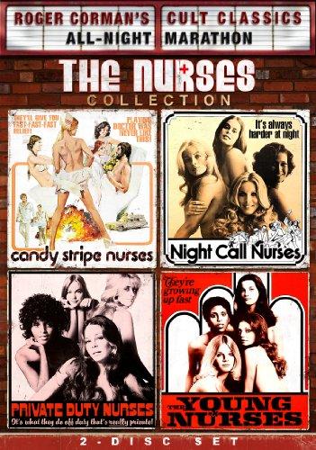 Roger Corman's Cult Classics: The Nurses Collection (Candy Stripe Nurses, Private Duty Nurses, Night Call Nurses, Young Nurses)