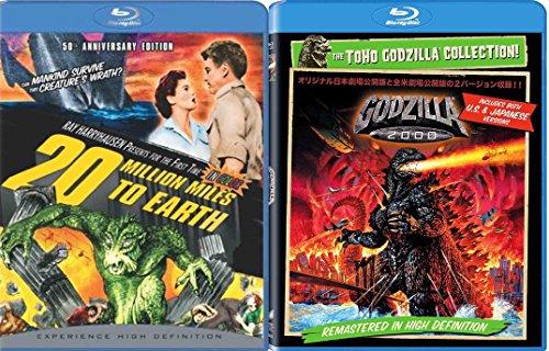 Godzilla 2000 & 20 Million Miles to Earth 2-Movie Bundle
