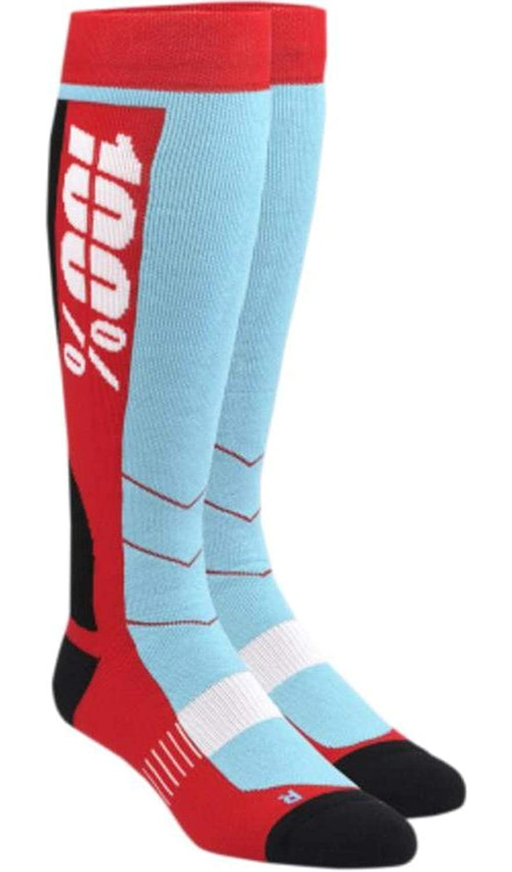 100% Unisex-Adult Hi Side 8' Mid-Calf Riding Socks (White, Large/X-Large) 24008-000-18