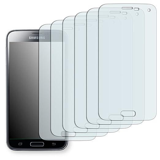 5 opinioni per 6 x Golebo Semi-Matt Pellicola Protettiva per Samsung Galaxy S5- (Antiriflesso,