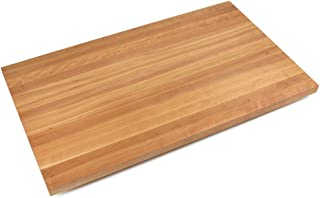 "product image for John Boos Edge-Grain Cherry Butcher Block Countertop - 1-1/2"" Thick, 84""L x 42""W, Natural Oil"