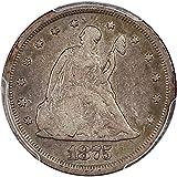 1875 S 20-Cent Pieces Twenty Cent Piece F12 PCGS