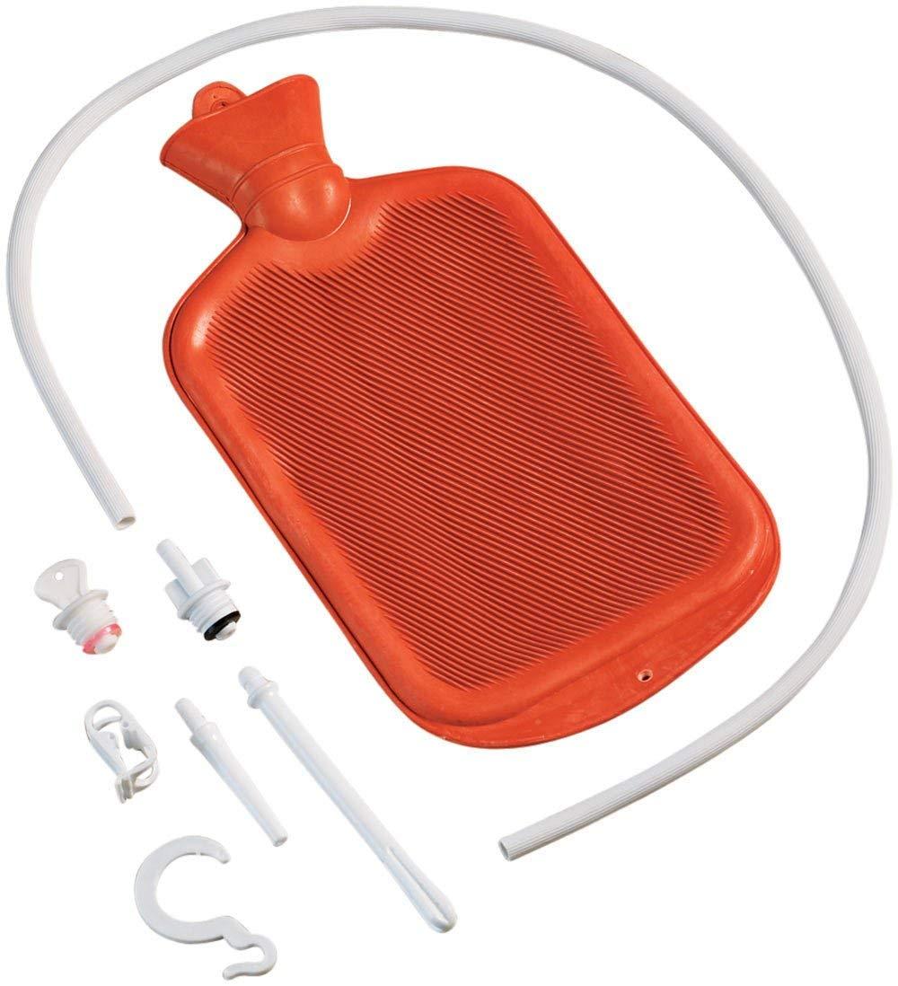 Water hose enema