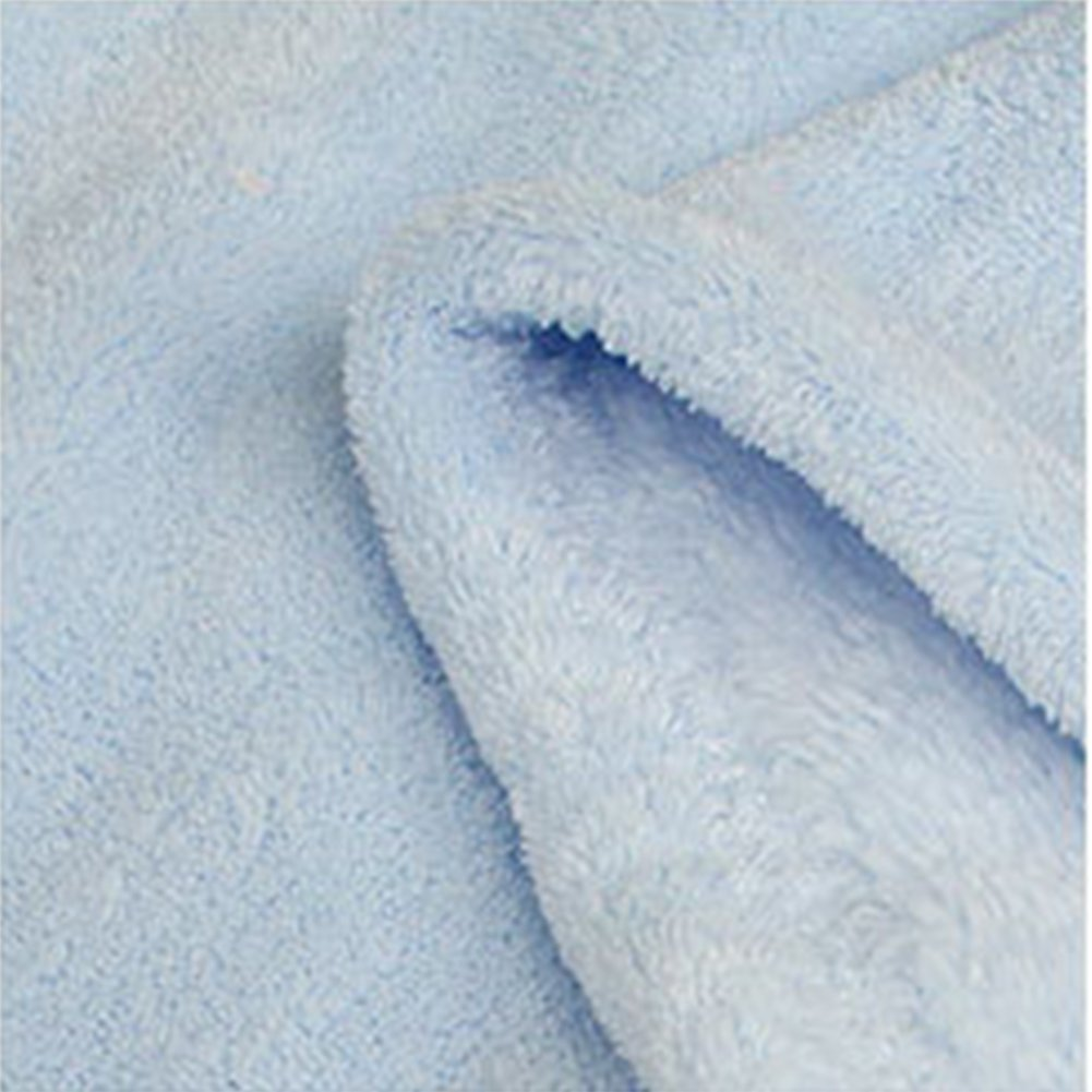 LNIMIKIY Reino Unido Cute Baby Animal Toalla de ba/ño Coral Fleece anket Baby con Capucha Abrigo Albornoz 95 75cmazul