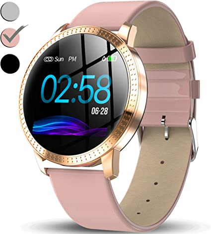 Amazon.com: Reloj inteligente con pantalla de color IPS para ...