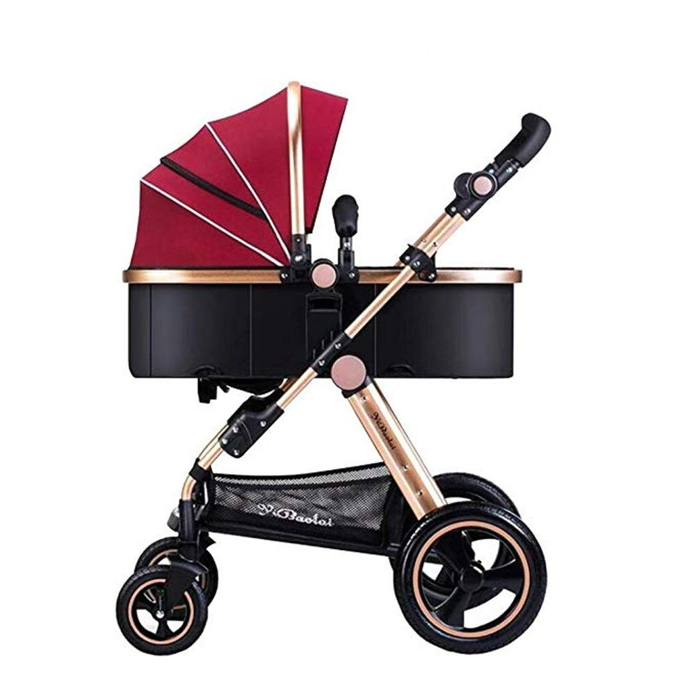 ETERLY Stroller High Landscape Folding Travel Rider Push Four Wheeler by ETERLY