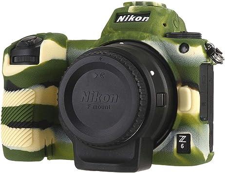 STSEETOP - Funda de Silicona para cámara Nikon Z6 Z7, Funda de ...