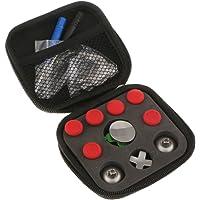 Dolity Juego Completo de Piezas de Repuesto Herramientas para Control Inalámbrico Elite Xbox One - rojo