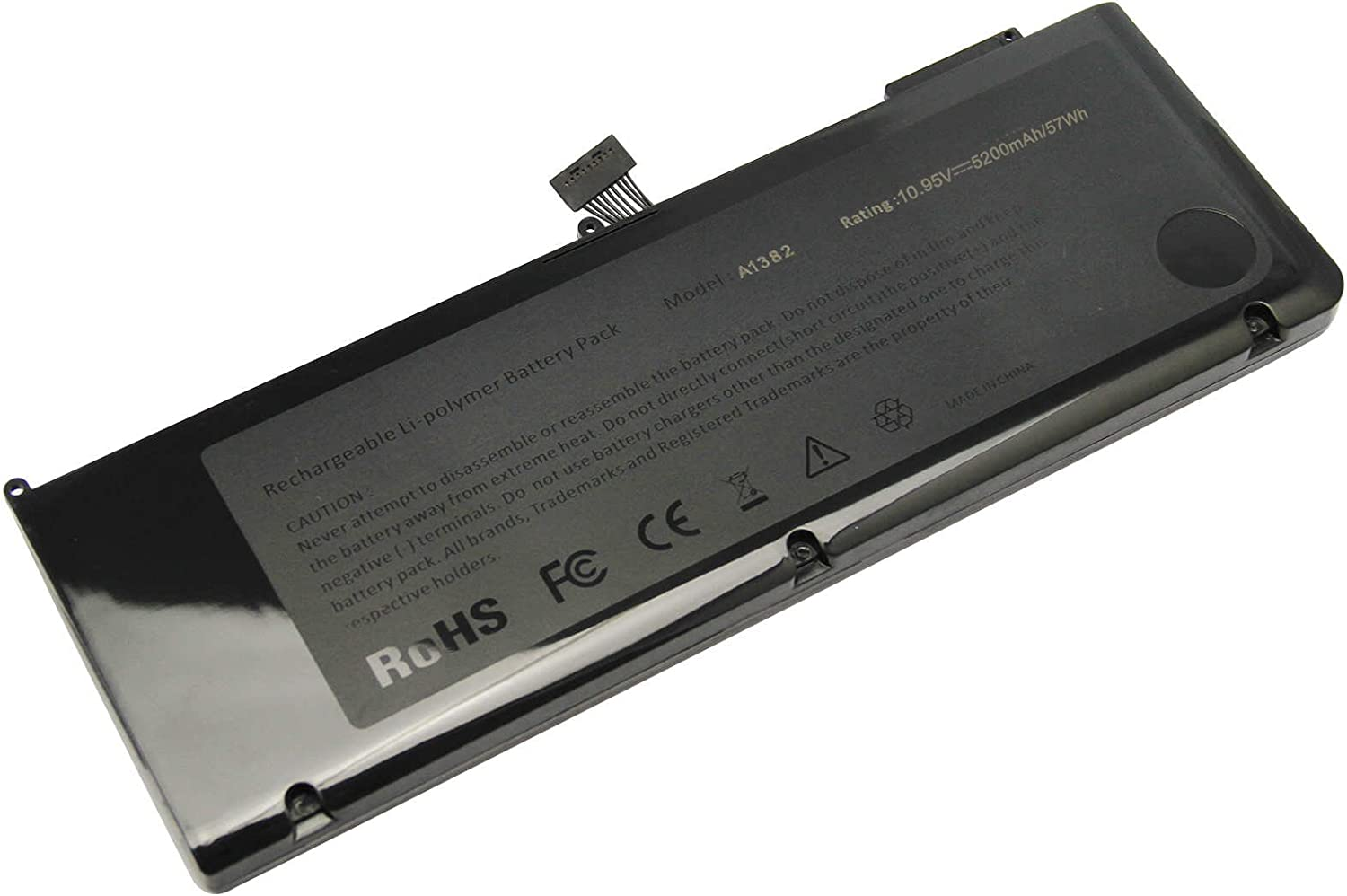 Early 2011 Late 2011 Mid 2012 Version ARyee 10.95V A1382 Battery Compatible with Apple Macbook Pro 15 A1382 A1286 020-7134-01 020-7134-A 661-5844 661-5211 661-5476
