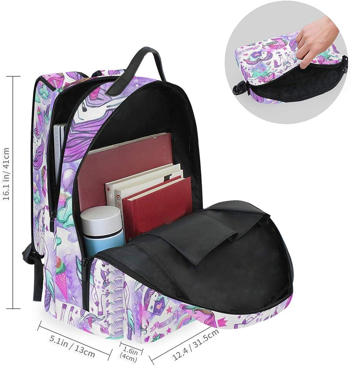 Mr.Brilliant Cute Unicorn Backpack for Boy Bookgbag for Girl 2060866