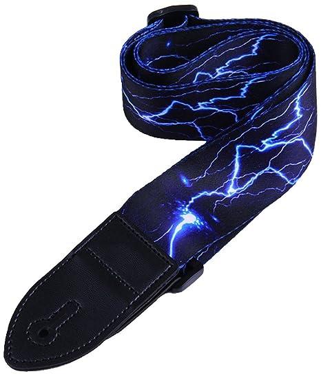 Paquete de correa de guitarra que incluye un conjunto de cerraduras de correa / 1 protección