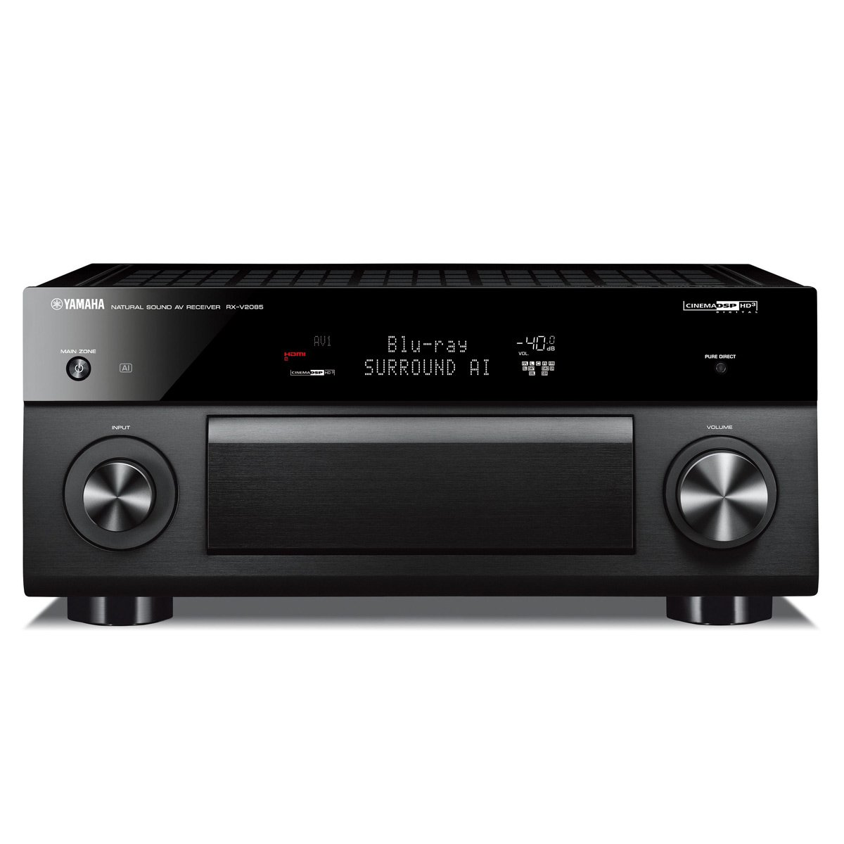 yamaha rx v2085 9 2 channel av receiver with musiccast. Black Bedroom Furniture Sets. Home Design Ideas