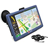 "junsun 7"" Car GPS Navigation Android Navigator Rear view Camera Vehicle Gps Sat Nav Lifetime Maps"