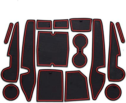 SHAOHAO 2021 Toyota Corolla Accessories Console Liners Mats Compatible for Toyota Corolla Console Groove Insert Liners for Toyota Corolla Cup Holder Inserts Liners 2019 2020