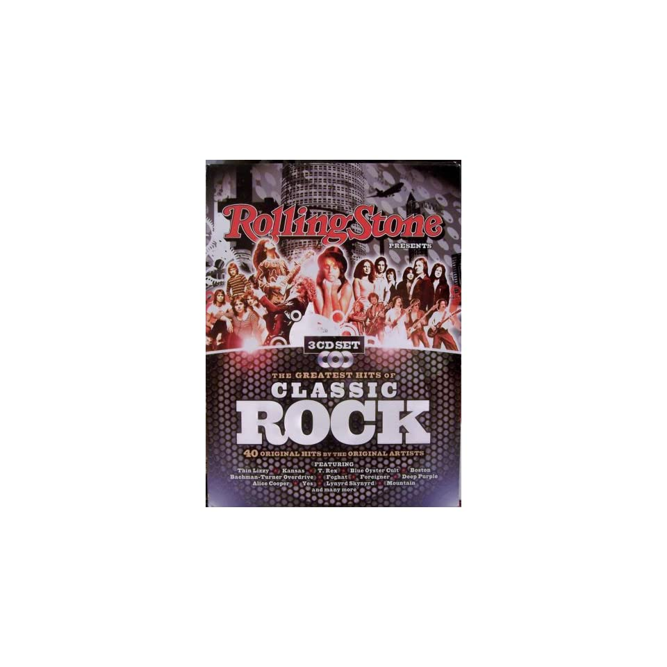 Rolling Stone PresentsThe Greatest Hits of Classic Rock