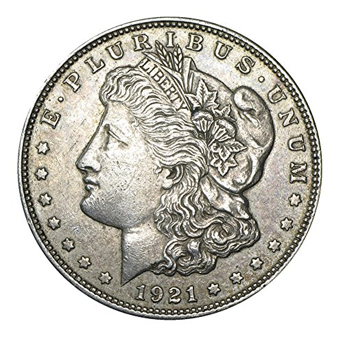1921 Morgan Dollar Circulated Condition 90% Silver Set Very Good ()