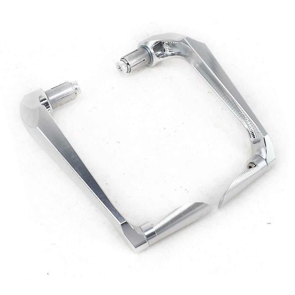 3D Gold Handguards Brake Clutch Lever Protector 22mm Universal Hand Guards Brush Bar For Suzuki RMZ250 DRZ400 RMZ450 Motorcycle Dirt Bike Motocross