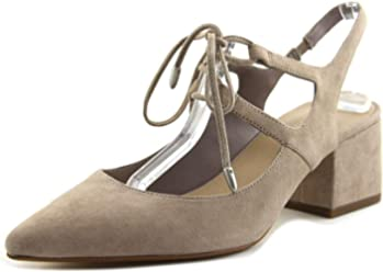 2257920ffdd Lord   Taylor 424 Fifth Womens June Suede Almond Toe Dress Pumps