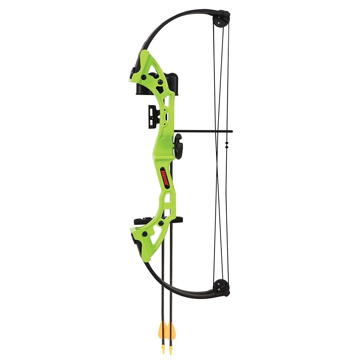 By-Ear Archery Youth Bow, Brave Set Girls Boys Practice Kids Compound Bow, Green
