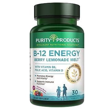 Amazon.com: B-12 Energy BerryMelt con Super Fruits - 30 ...