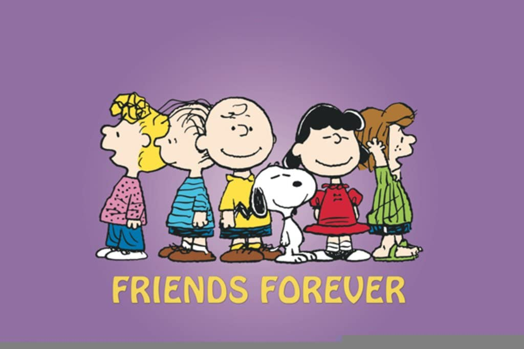 CHARLIE BROWN /& LUCY VAN PELT~PEANUTS~8 x 10 Mat Print~CREATIVE DIFFERENCES~NEW