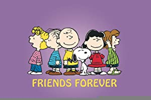 Pyramid America Peanuts Friends Forever Charlie Brown Comic Strip Characters Snoopy Lucy Linus Poster 36x24 Inch