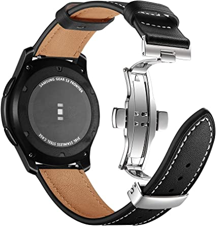Myada 22MM Correa para Samsung Galaxy Watch de 46 mm in Piel ...