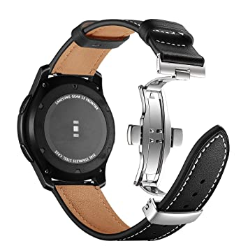 Amazon.com: AISPORTS Compatible for 22mm Samsung Gear S3 ...