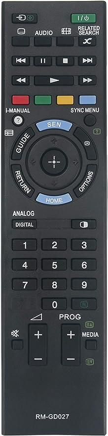 Vinabty Nueva rm-gd027 rmgd027 reemplazado ajuste remoto para Sony Bravia TV KDL- 55 W804 a