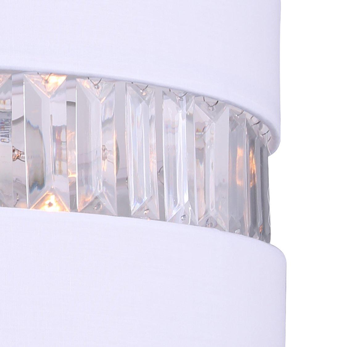 Amazon.com: Canarm ich426 a03ch16 Ballard – Lámpara de techo ...