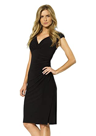 e5b6e9857420c Image Unavailable. Image not available for. Color  LAUREN RALPH LAUREN  Womens Ruched Sleeveless ...