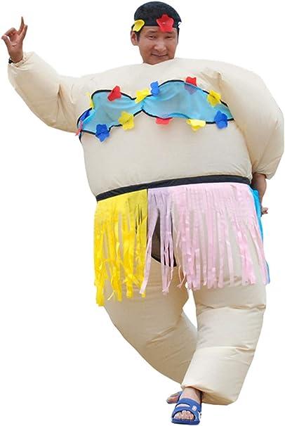CosplayCos Disfraz Inflable Divertido, Traje de Baile Hawaiano ...