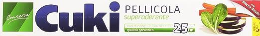 5 opinioni per Cuki- Pellicola, Superaderente, Protezione Sicura Dei Cibi, Qualità Garantita-