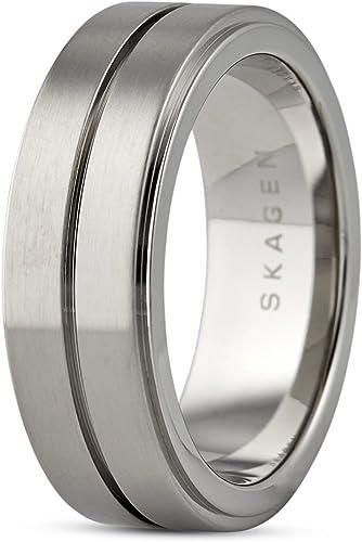 Skagen SKJM0088 Herren Ring RASMUS Edelstahl 20,1 mm Größe