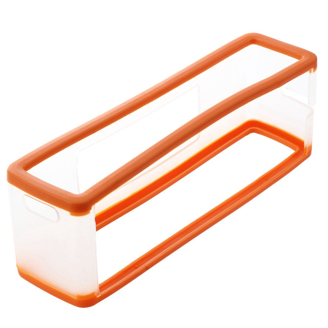 Soft Cover Case - SODIAL(R) Soft Cover Case Protector for BOSE SoundLink Mini Bluetooth Speaker Orange+Clear 059205A3