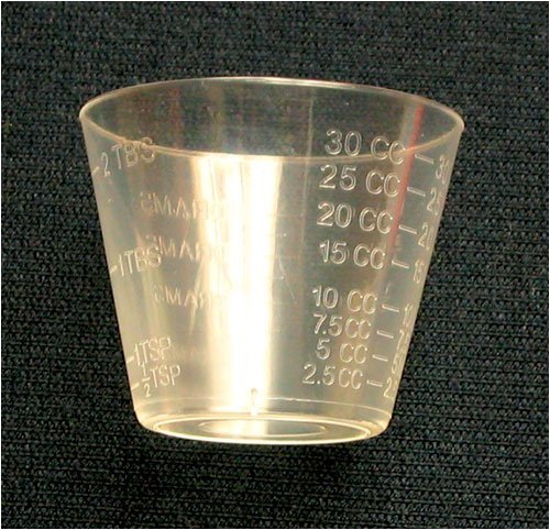 Medicine Cups Disposable 1oz. Graduated - 1 PK/100
